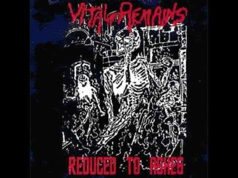 Vital Remains-Reduced To Ashes Full Demo('89)