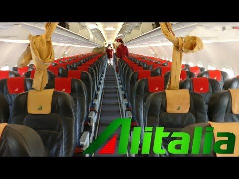 FLIGHT REPORT / ALITALIA AIRBUS A319 / NICE - ROME