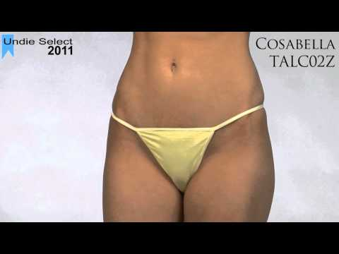 2011 Undie Awards Select G-String - Cosabella TALC02Z