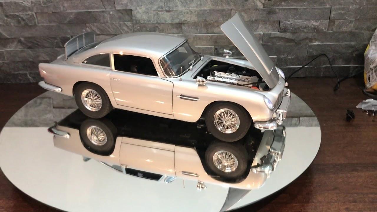 Eaglemoss Aston Martin Db5 James Bond 007 Goldfinger 1 8 Scale Youtube