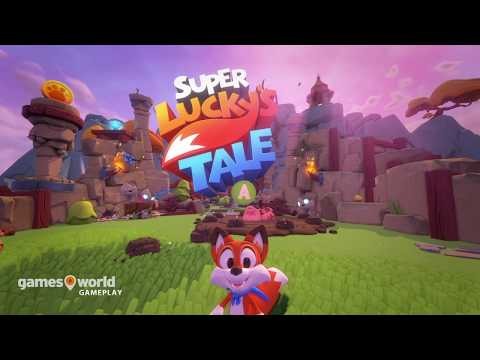 Luckys Tale - 4K Gameplay / XBOX One X 🎮