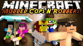 Minecraft Mini-Game : MODDED COPS N ROBBERS! TROPICRAFT!