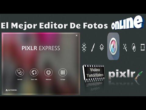 Pixlr | El Mejor Editor De Fotos Online | Funciones Basicas...!!!