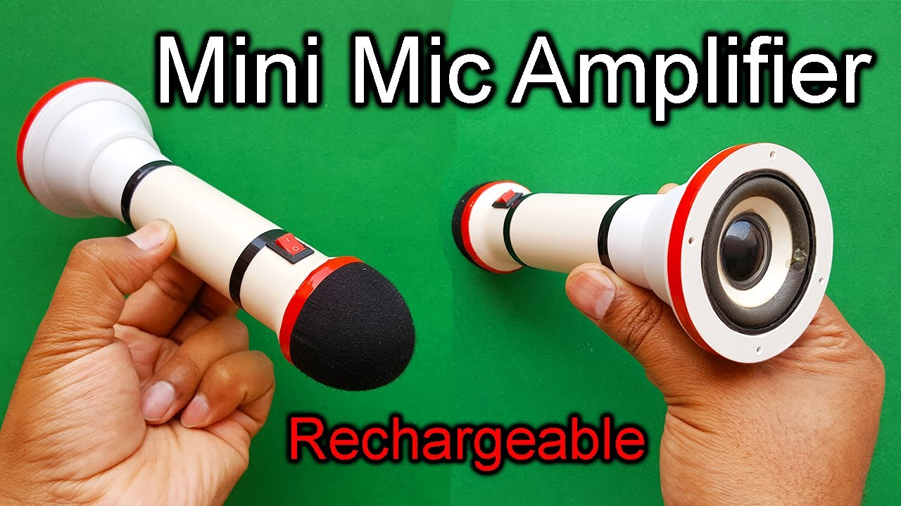 Download How To Make A Mini Mic Amplifier | Microphone Amplifier DIY | Mic Amplifier With Loud & Clear Sound
