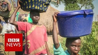 South Sudan Civil War: Refugees flee the atrocities - BBC News