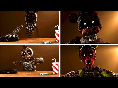 Five Nights At Freddy's 6 The Joy Of Creation Interviews [SFM FNAF]