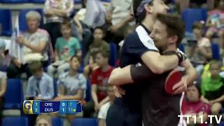 Jun mizutani vs timo boll | final 2 - champions league 2017/2018