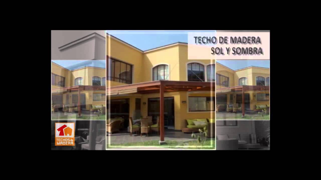 Construcci N De Techos En Estructuras De Madera Lima Peru