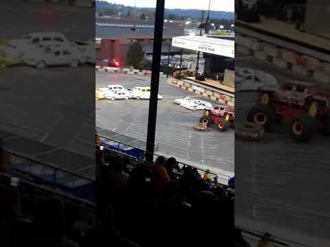 Monster truck show identity theft & more