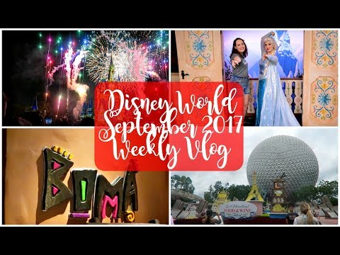 Disney World Weekly Vlog September 2017 | Hurricane Irma, Food and Wine Festival & Magic Kingdom!
