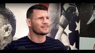 How Did Michael Bisping React When Dana White Said, 'You're Fighting Dan Henderson'?