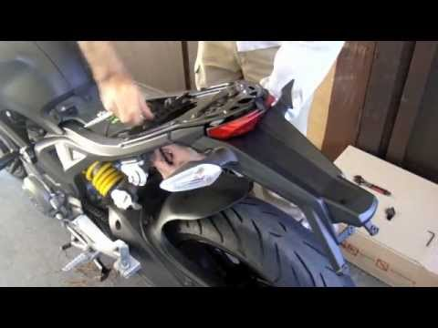 hqdefault diy ducati monster 696 rear fender removal & replacement youtube  at eliteediting.co