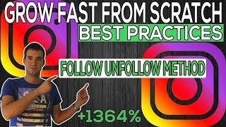Follow Unfollow Instagram Growth Method 2019 [Explained In Depth]