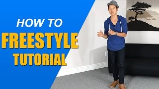 Easy freestyle dance combo - Learn how to freestyle dance (for guys)