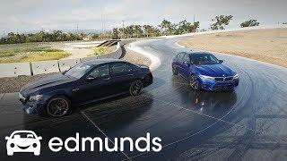 2018 BMW M5 vs. 2018 Mercedes-AMG E63 S Comparison | Edmunds