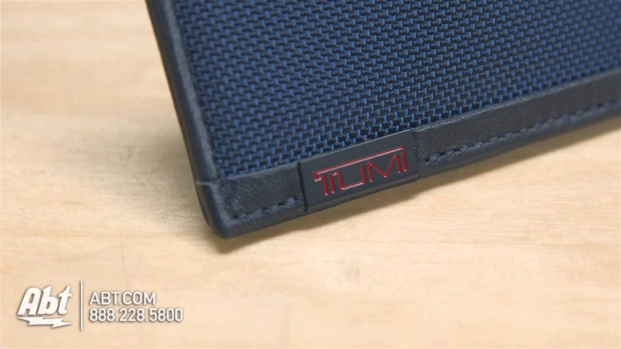 Tumi Alpha Collection Baltic Card Case 0119259BTID Overview - YouTube