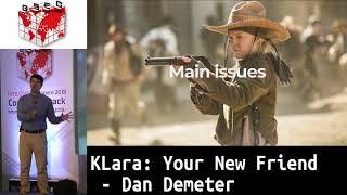 #HITBGSEC 2018 COMMSEC: KLara: Your New Friend - Dan Demeter