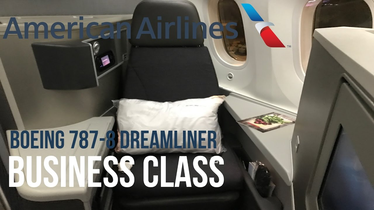 American Airlines Business Class Boeing 787 Dreamliner Tokyo Los Angeles ¢メリカン航空ビジネスクラス東京羽田 íサンゼルス Youtube