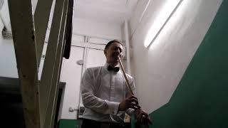 Между выступлениями в филармонии записал отрывок из  саундтрека к фильму Однажды  в Америке  Эннио