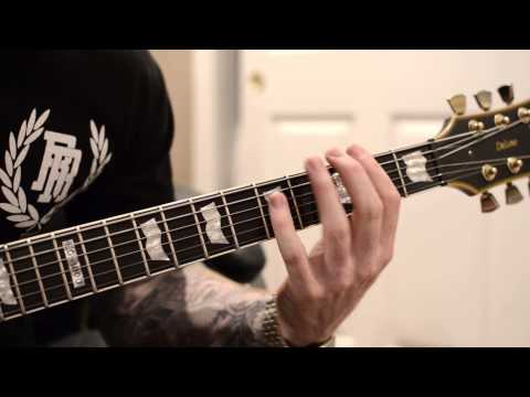 A SKYLIT DRIVE - Nick's Guitar Lesson: RISE