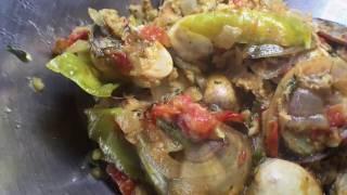 Рецепт моллюсков по-гоански от моей свекрови