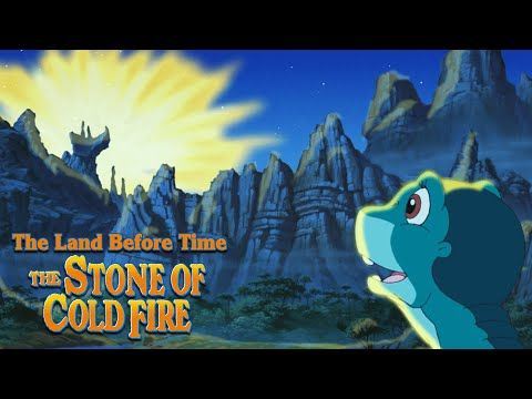 Littlefoot Discovers a Meteor! | The Land Before Time VII: The Stone of Cold Fire