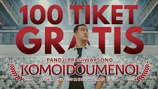 100 TIKET GRATIS KOMOIDOUMENOI ISTORA