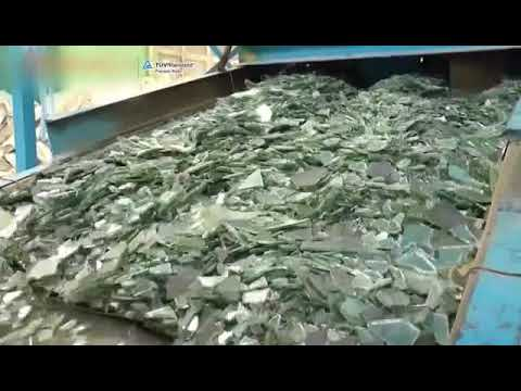 Hi Chipper Glass Factory-Recycled Glass Chips, crushed glass, terrazzo glass