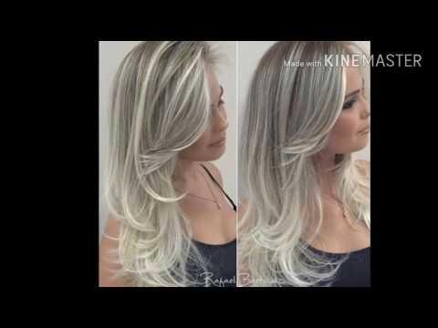 Os cabelos loiros mais lindos / platinados
