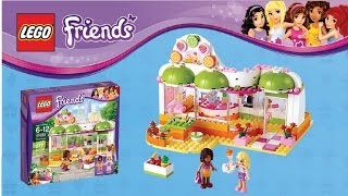 Lego Friends Juice Bar Review And Time-lapse Build