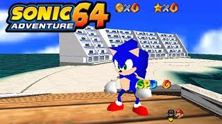 Sonic Adventure 64 - Super Mario 64 Hack