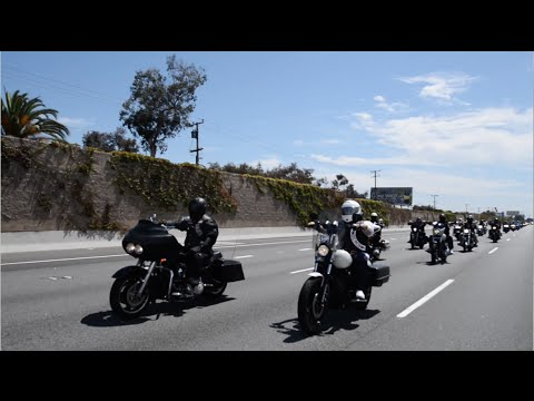Hells Angels MC Daly City 17th Annual Poker Run - YouTube