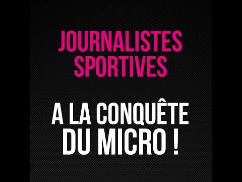 A LA CONQUÊTE DU MICRO : Teaser Les 100 Histoires de Légende du Sport au Féminin