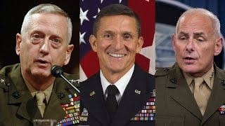 From youtube.com: Trump Has Appointed More Generals in His Cabinet Than Any President Since World War II {MID-209331}