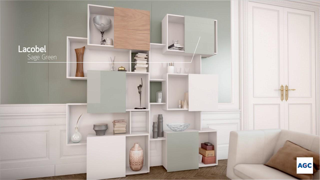 Fond De Hotte Verre Ikea [le verre laqué] décorer et rénover simplement avec les lacobel et matelac  2020