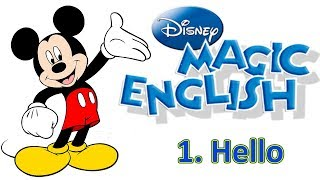 Magic English 1 - Hello | ENGLISH WITH CARTOONS FOR KIDS