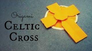 Celtic Cross Origami Tutorial (tadashi Mori)
