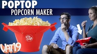 Make Healthy Popcorn in the Blooming PopTop Popper