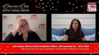 Julie Kampf, JBK Associates International – 2020 PharmaVOICE 100 Celebration