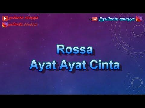 Ayat Ayat Cinta - Rossa (Karaoke Tanpa Vokal)