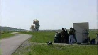 بالفيديو.. صاروخ مضاد للدروع يحول الدبابة إلى هباء