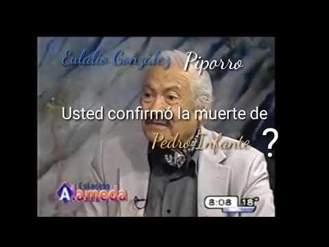 Piporro ...Usted confirmó la muerte de Pedro Inte?