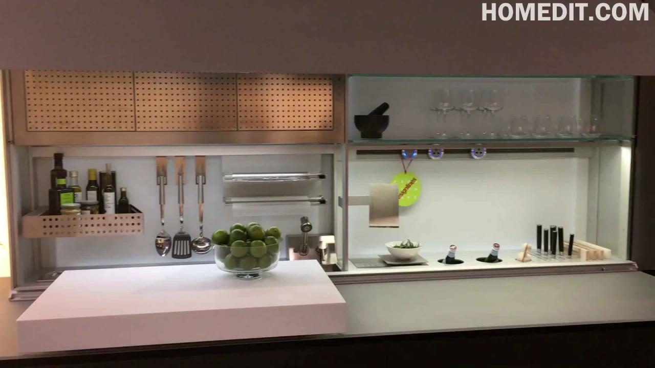 Valcucine kitchen design with new logica system youtube for Cucine valcucine
