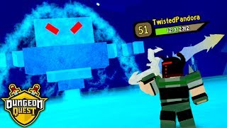 I DEFEATED the FINAL BOSS in DUNGEON QUEST!! *LEVEL 50!* (Roblox)