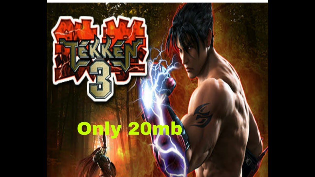 How to download Tekken 3 for free in Android only 20mb
