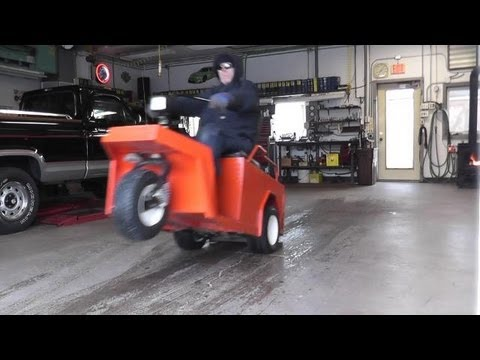 cushman gone wild wheelies high speed runs youtube rh youtube com