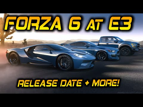 Forza 6 release date