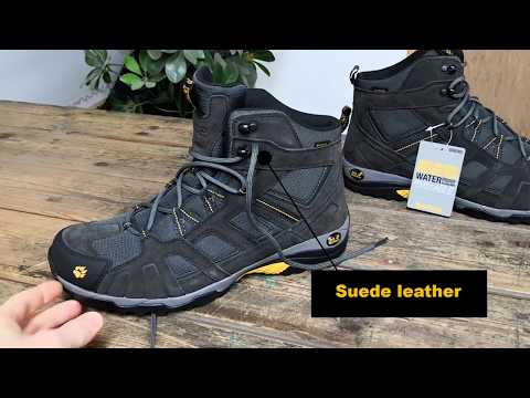 Jack Wolfskin Vojo Hike Mid Walking Boots YouTube