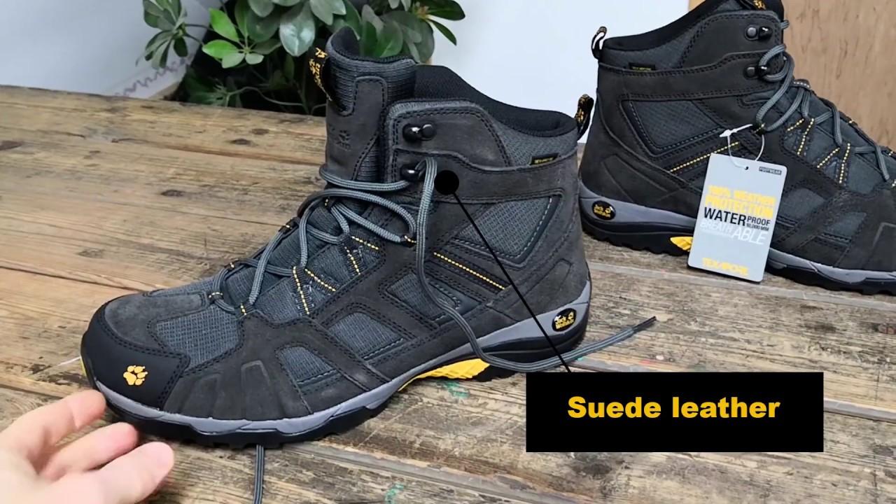 f48f59fff9e Jack Wolfskin Vojo Hike Mid Walking Boots - YouTube