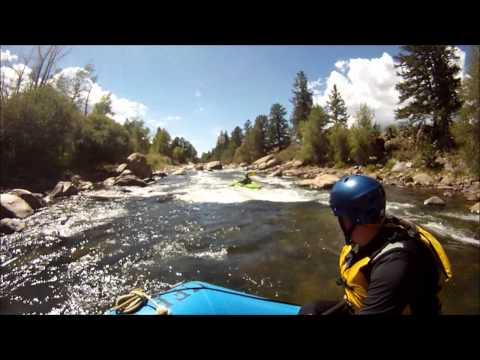 """The Numbers"" on the Arkansas River.  GoPro footage"
